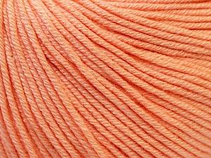 Fiber Content 60% Cotton, 40% Acrylic, Light Salmon, Brand ICE, Yarn Thickness 2 Fine  Sport, Baby, fnt2-32823