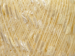 Trellis  Fiber Content 100% Polyester, Light Yellow, Brand ICE, Yarn Thickness 5 Bulky  Chunky, Craft, Rug, fnt2-34118
