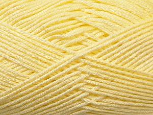 Fiber Content 100% Antibacterial Dralon, Brand Ice Yarns, Baby Yellow, Yarn Thickness 2 Fine Sport, Baby, fnt2-34587