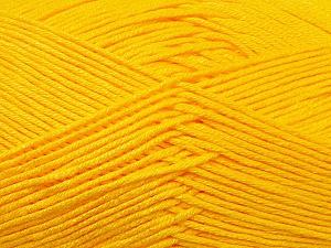Fiber Content 100% Antibacterial Dralon, Yellow, Brand Ice Yarns, Yarn Thickness 2 Fine Sport, Baby, fnt2-34594