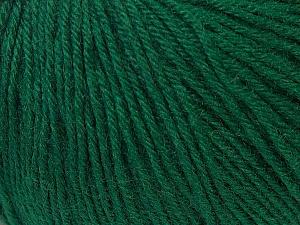 Fiber Content 40% Acrylic, 40% Merino Wool, 20% Polyamide, Brand ICE, Green, Yarn Thickness 2 Fine  Sport, Baby, fnt2-34732