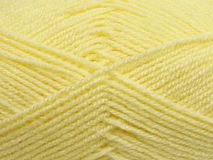 Fiber Content 100% Baby Acrylic, Brand ICE, Baby Yellow, Yarn Thickness 2 Fine  Sport, Baby, fnt2-34967