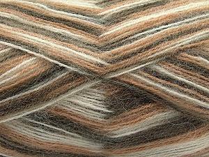 Fiber Content 70% Angora, 30% Acrylic, Light Brown, Brand Ice Yarns, Cream, Camel, Yarn Thickness 2 Fine Sport, Baby, fnt2-35077