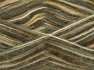 Fiber Content 70% Angora, 30% Acrylic, White, Brand ICE, Green, Camel, Yarn Thickness 2 Fine  Sport, Baby, fnt2-35079