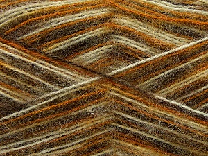 Fiber Content 70% Angora, 30% Acrylic, White, Orange, Brand Ice Yarns, Green, Yarn Thickness 2 Fine Sport, Baby, fnt2-35081