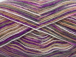 Fiber Content 70% Angora, 30% Acrylic, White, Lavender, Brand ICE, Grey, Camel, Yarn Thickness 2 Fine  Sport, Baby, fnt2-35100