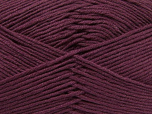 Fiber Content 100% Antibacterial Dralon, Maroon, Brand ICE, Yarn Thickness 2 Fine  Sport, Baby, fnt2-35241