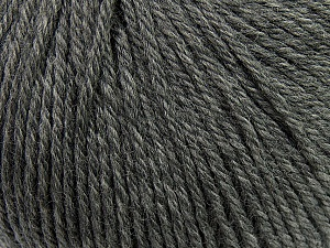Fiber Content 100% Wool, Brand ICE, Grey, Yarn Thickness 4 Medium  Worsted, Afghan, Aran, fnt2-37991