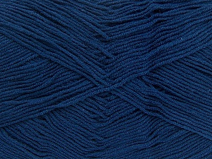 Fiber Content 55% Cotton, 45% Acrylic, Navy, Brand Ice Yarns, Yarn Thickness 1 SuperFine Sock, Fingering, Baby, fnt2-38679