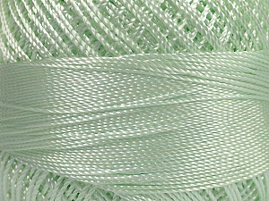 Fiber Content 100% Micro Fiber, Brand YarnArt, Mint Green, Yarn Thickness 0 Lace  Fingering Crochet Thread, fnt2-39567