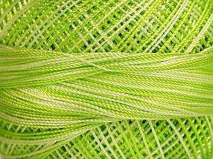Fiber Content 100% Micro Fiber, Phosphoric Green, Brand Ice Yarns, Green Shades, Green, Yarn Thickness 0 Lace  Fingering Crochet Thread, fnt2-40205