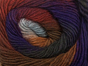Fiber Content 50% Acrylic, 50% Wool, Purple, Brand Ice Yarns, Grey Shades, Brown Shades, Yarn Thickness 2 Fine Sport, Baby, fnt2-40630