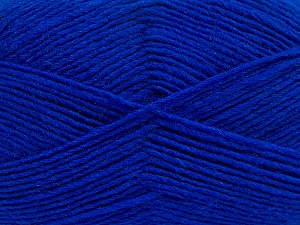 Fiber Content 50% Acrylic, 50% Wool, Brand ICE, Blue, Yarn Thickness 3 Light  DK, Light, Worsted, fnt2-40809
