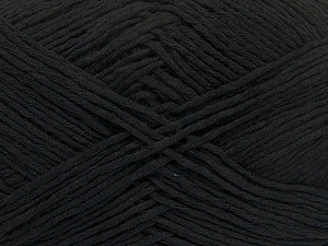 Please note that the yarn weight and the ball length may vary from one color to another for this yarn. Fiber Content 100% Cotton, Brand ICE, Black, Yarn Thickness 3 Light  DK, Light, Worsted, fnt2-40903
