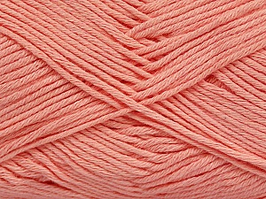 Fiber Content 50% Cotton, 50% Bamboo, Light Salmon, Brand ICE, Yarn Thickness 2 Fine  Sport, Baby, fnt2-41443
