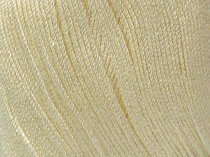 Fiber Content 100% Bamboo, Brand ICE, Cream, Yarn Thickness 2 Fine  Sport, Baby, fnt2-41457