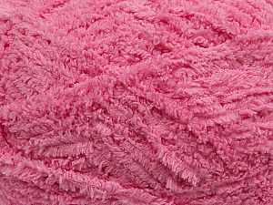 Fiber Content 100% Micro Fiber, Pink, Brand ICE, Yarn Thickness 5 Bulky  Chunky, Craft, Rug, fnt2-41766