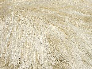 Fiber Content 100% Polyester, Brand Ice Yarns, Ecru, Yarn Thickness 6 SuperBulky Bulky, Roving, fnt2-42069