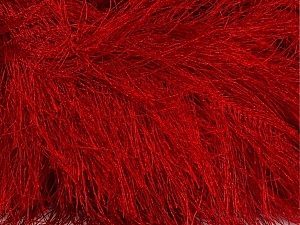 Fiber Content 100% Polyester, Red, Brand ICE, Yarn Thickness 6 SuperBulky  Bulky, Roving, fnt2-42080