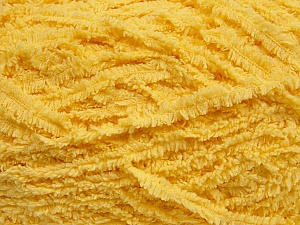 Fiber Content 100% Micro Fiber, Light Yellow, Brand ICE, Yarn Thickness 5 Bulky  Chunky, Craft, Rug, fnt2-42140