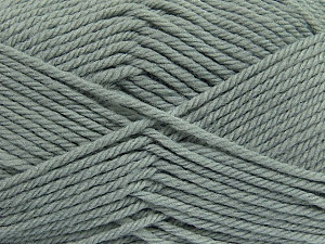 Fiber Content 50% Acrylic, 50% Polyamide, Brand ICE, Grey, Yarn Thickness 3 Light  DK, Light, Worsted, fnt2-42369