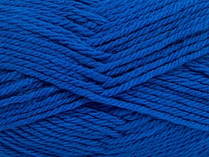 Fiber Content 50% Acrylic, 50% Polyamide, Brand ICE, Blue, Yarn Thickness 3 Light  DK, Light, Worsted, fnt2-42374