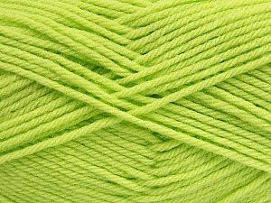 Fiber Content 50% Acrylic, 50% Polyamide, Brand ICE, Baby Green, Yarn Thickness 3 Light  DK, Light, Worsted, fnt2-42383