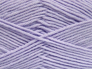 Fiber Content 50% Acrylic, 50% Polyamide, Lilac, Brand ICE, Yarn Thickness 3 Light  DK, Light, Worsted, fnt2-42392