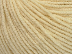 SUPERWASH MERINO is a worsted weight 100% superwash merino yarn available in 47 beautiful colors. Marvelous hand, perfect stitch definition, and a soft-but-sturdy finished fabric. Projects knit and crocheted in SUPERWASH MERINO are machine washable! Lay flat to dry. Fiber Content 100% Superwash Merino Wool, Brand ICE, Cream, Yarn Thickness 4 Medium  Worsted, Afghan, Aran, fnt2-42454