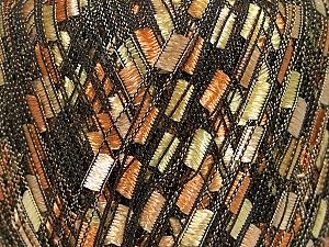 Trellis Fiber Content 100% Polyester, Yellow, Orange, Brand Ice Yarns, Gold, Yarn Thickness 5 Bulky Chunky, Craft, Rug, fnt2-42714