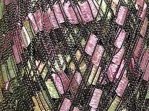 Trellis Fiber Content 100% Polyester, Yellow, Pink, Brand Ice Yarns, Green, Cream, Yarn Thickness 5 Bulky Chunky, Craft, Rug, fnt2-42717