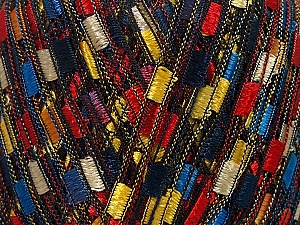 Trellis  Fiber Content 100% Polyester, Yellow, Red, Orange, Navy, Brand ICE, Gold, Blue, Yarn Thickness 5 Bulky  Chunky, Craft, Rug, fnt2-42721
