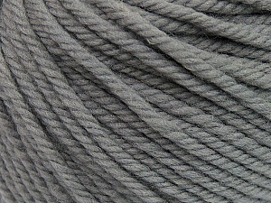 SUPERWASH WOOL BULKY is a bulky weight 100% superwash wool yarn. Perfect stitch definition, and a soft-but-sturdy finished fabric. Projects knit and crocheted in SUPERWASH WOOL BULKY are machine washable! Lay flat to dry. Fiber Content 100% Superwash Wool, Brand ICE, Grey, Yarn Thickness 5 Bulky  Chunky, Craft, Rug, fnt2-42820