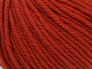 SUPERWASH WOOL BULKY is a bulky weight 100% superwash wool yarn. Perfect stitch definition, and a soft-but-sturdy finished fabric. Projects knit and crocheted in SUPERWASH WOOL BULKY are machine washable! Lay flat to dry. Fiber Content 100% Superwash Wool, Brand ICE, Copper, Yarn Thickness 5 Bulky  Chunky, Craft, Rug, fnt2-42825