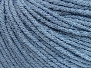 SUPERWASH WOOL BULKY is a bulky weight 100% superwash wool yarn. Perfect stitch definition, and a soft-but-sturdy finished fabric. Projects knit and crocheted in SUPERWASH WOOL BULKY are machine washable! Lay flat to dry. Fiber Content 100% Superwash Wool, Light Lilac, Brand ICE, Yarn Thickness 5 Bulky  Chunky, Craft, Rug, fnt2-42842