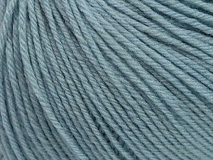 SUPERWASH WOOL is a DK weight 100% superwash wool yarn. Perfect stitch definition, and a soft-but-sturdy finished fabric. Projects knit and crocheted in SUPERWASH WOOL are machine washable! Lay flat to dry. Fiber Content 100% Superwash Wool, Light Blue, Brand ICE, Yarn Thickness 3 Light  DK, Light, Worsted, fnt2-42925