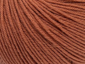 SUPERWASH WOOL is a DK weight 100% superwash wool yarn. Perfect stitch definition, and a soft-but-sturdy finished fabric. Projects knit and crocheted in SUPERWASH WOOL are machine washable! Lay flat to dry. Fiber Content 100% Superwash Wool, Brand ICE, Copper, Yarn Thickness 3 Light  DK, Light, Worsted, fnt2-42941