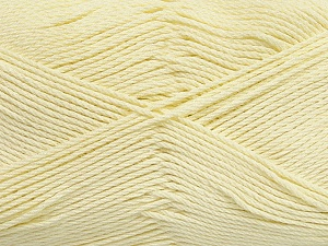 Fiber Content 50% Bamboo, 50% Viscose, Light Yellow, Brand ICE, Yarn Thickness 2 Fine  Sport, Baby, fnt2-43036