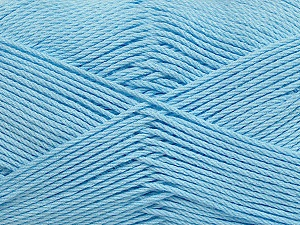 Fiber Content 50% Bamboo, 50% Viscose, Light Blue, Brand ICE, Yarn Thickness 2 Fine  Sport, Baby, fnt2-43037