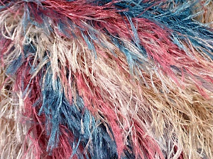 Fiber Content 100% Polyester, Yellow, White, Purple, Brand Ice Yarns, Burgundy, Blue, Yarn Thickness 5 Bulky Chunky, Craft, Rug, fnt2-43041