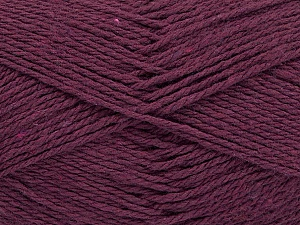 Fiber Content 100% Cotton, Purple, Brand ICE, Yarn Thickness 3 Light  DK, Light, Worsted, fnt2-44319
