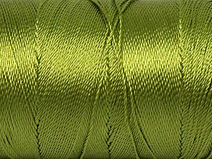 Fiber Content 100% Polyester, Brand ICE, Forest Green, Yarn Thickness 0 Lace  Fingering Crochet Thread, fnt2-44832