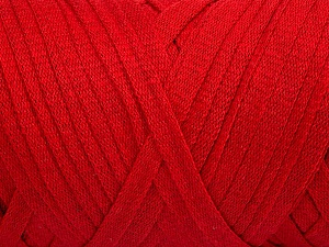 Fiber Content 100% Recycled Cotton, Red, Brand Ice Yarns, Yarn Thickness 6 SuperBulky  Bulky, Roving, fnt2-44890