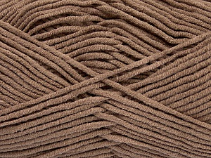 Fiber Content 55% Cotton, 45% Acrylic, Brand ICE, Camel, Yarn Thickness 4 Medium  Worsted, Afghan, Aran, fnt2-45140