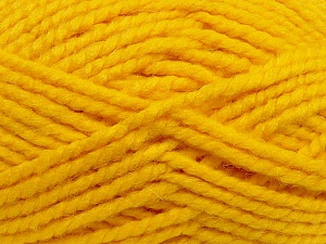 SuperBulky  Fiber Content 60% Acrylic, 30% Alpaca, 10% Wool, Yellow, Brand ICE, Yarn Thickness 6 SuperBulky  Bulky, Roving, fnt2-45164