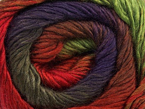 Fiber Content 50% Acrylic, 50% Wool, Red, Purple, Brand Ice Yarns, Green, Camel, Brown, Yarn Thickness 2 Fine Sport, Baby, fnt2-45317