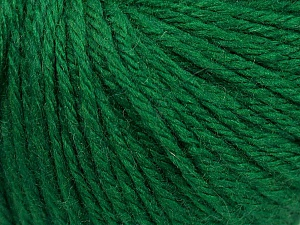 Fiber Content 40% Merino Wool, 40% Acrylic, 20% Polyamide, Brand ICE, Dark Green, Yarn Thickness 3 Light  DK, Light, Worsted, fnt2-45816