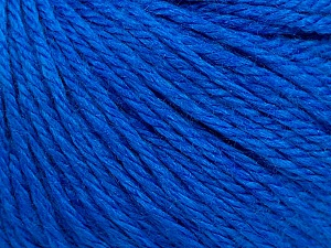 Fiber Content 40% Merino Wool, 40% Acrylic, 20% Polyamide, Brand ICE, Blue, Yarn Thickness 3 Light  DK, Light, Worsted, fnt2-45822