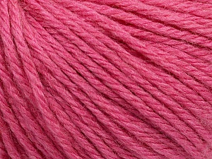 Fiber Content 40% Merino Wool, 40% Acrylic, 20% Polyamide, Rose Pink, Brand ICE, Yarn Thickness 3 Light  DK, Light, Worsted, fnt2-45826