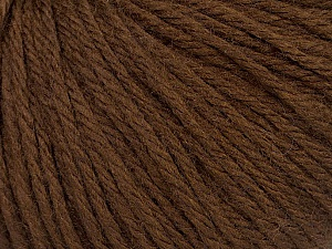 Fiber Content 40% Merino Wool, 40% Acrylic, 20% Polyamide, Brand ICE, Brown, Yarn Thickness 3 Light  DK, Light, Worsted, fnt2-46037